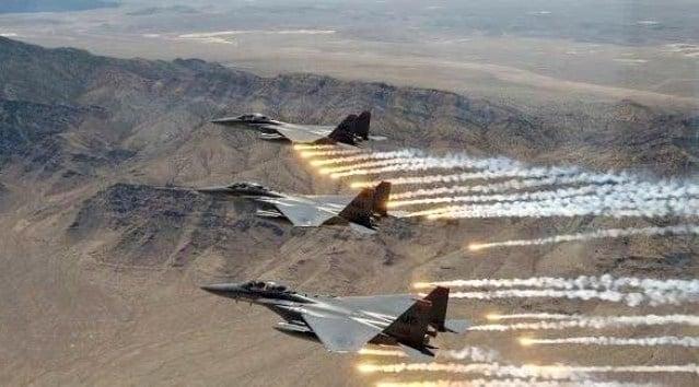 التحالف يستهدف مواقع حوثية عسكرية في صنعاء