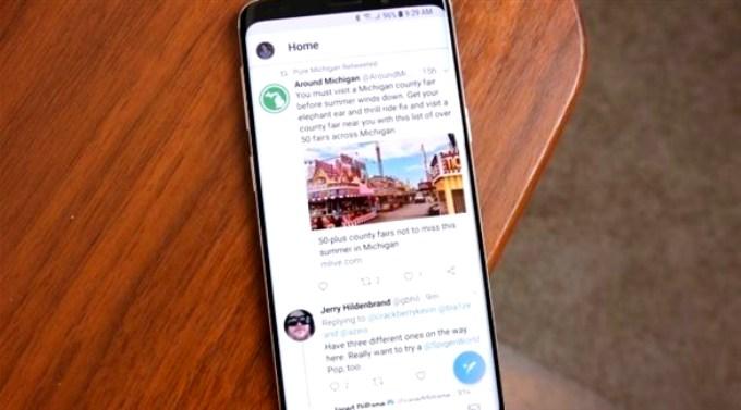 تويتر تعترف بثغرة أمنية في تطبيقها لأجهزة أندرويد