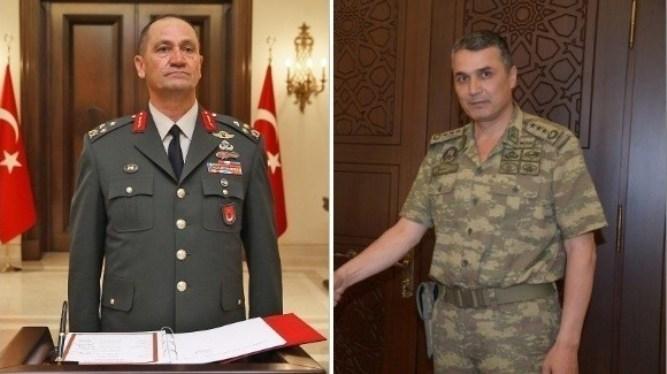 أردوغان يعاقب عسكريين كبيرين اعترضا على عملية شرق الفرات