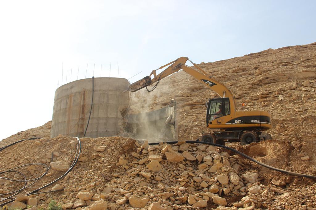 لجنة التعديات بأملج تستعيد 100 ألف متر مربع من الأراضي المعتدى عليها بالدقم