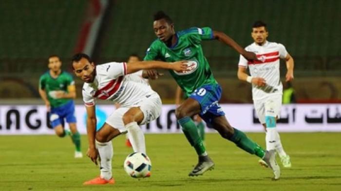 مشاهدة مباراة الزمالك ومصر المقاصة بث مباشر في الدوري المصري