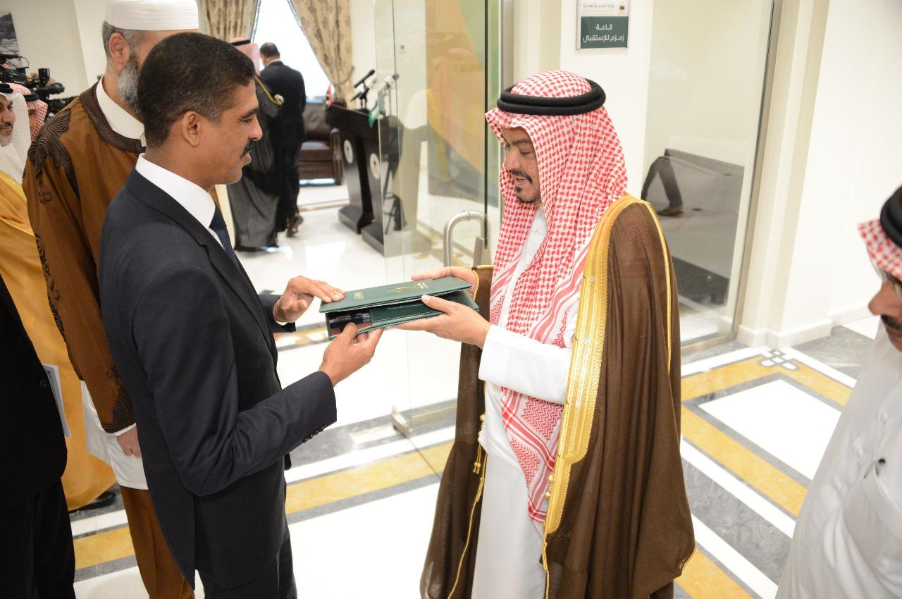 رئيس لجنة حجاج ليبيا ووزير الشؤون الإسلامية السيرلانكي يشيدان بجهود المملكة لتسهيل الحج