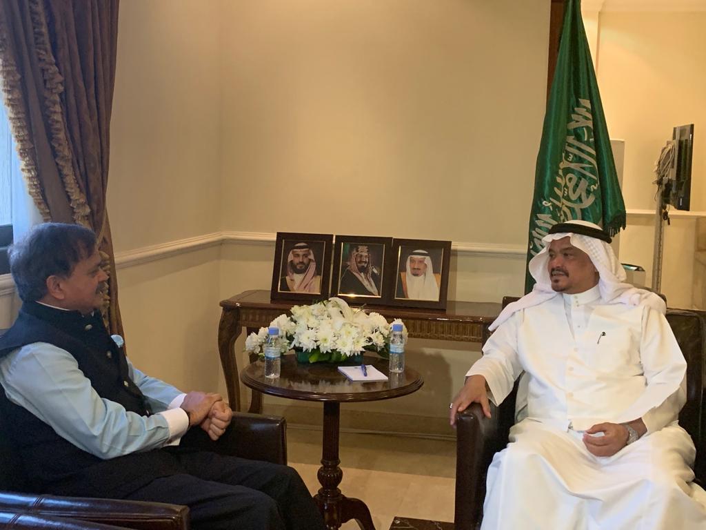السفير الهندي لدى المملكة يشيد بالجهود والتسهيلات المبذولة لضيوف الرحمن