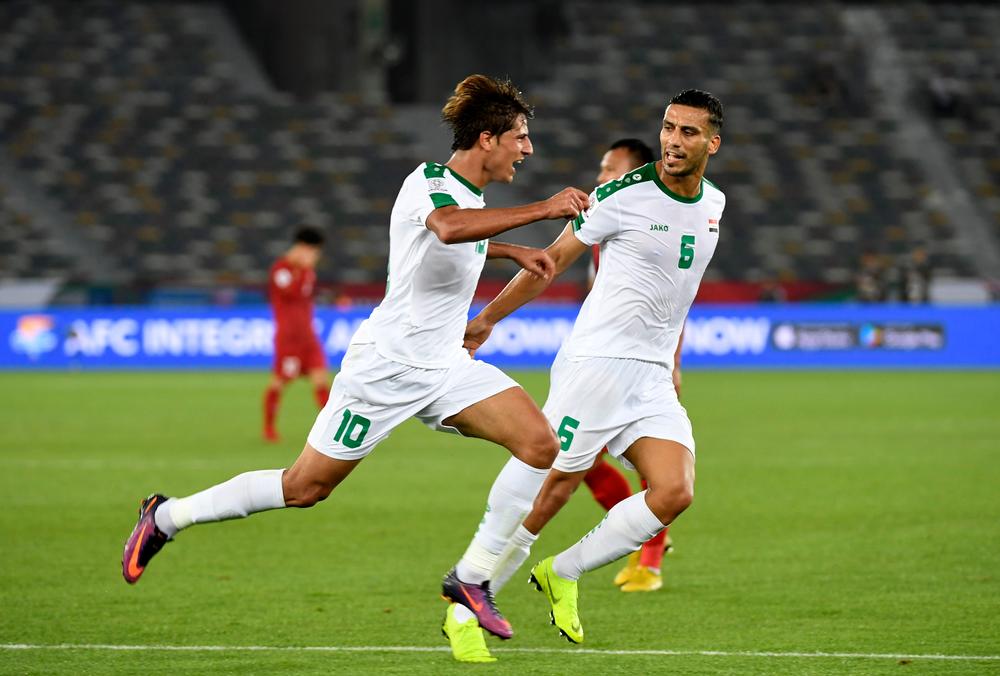 مشاهدة مباراة العراق واليمن بث مباشر في كأس آسيا 2019