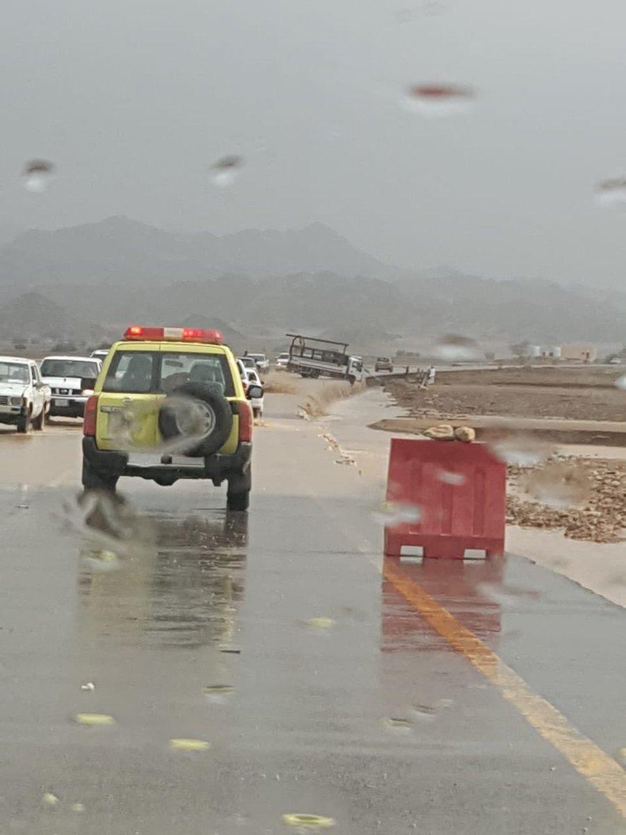 """أمطار على حائل.. و""""الأرصاد"""" تحذّر 10 مناطق من طقس الخميس"""