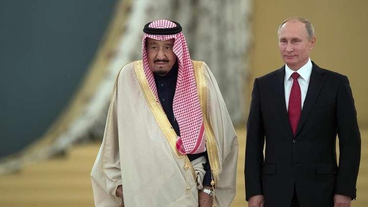 محادثات بين الملك سلمان والرئيس الروسي فلاديمير بوتين