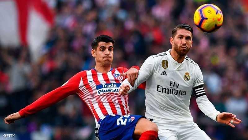 ريال مدريد يحسم ديربي مدريد بثلاثية