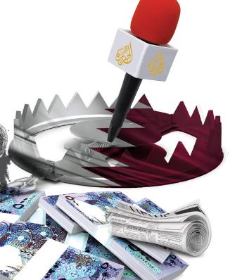 قبل زيارة تميم.. تقرير أجنبي يحذر الأمريكيين: هذا تاريخ الدوحة الملطخ بالتطرف والدماء