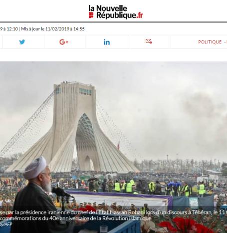 صحيفة فرنسية تكشف خطة طهران لتضليل الإيرانيين عن الأوضاع