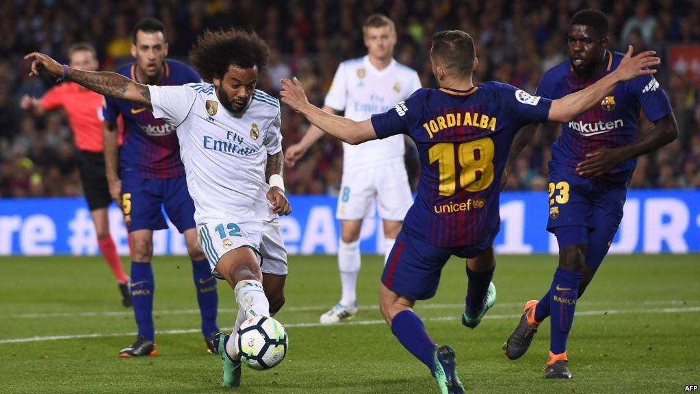 مشاهدة مباراة ريال مدريد وبرشلونة بث مباشر