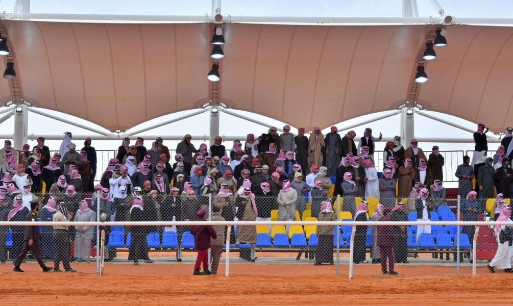 فوز الأميرة سيرين في أول مشاركة نسائية بمهرجان الإبل