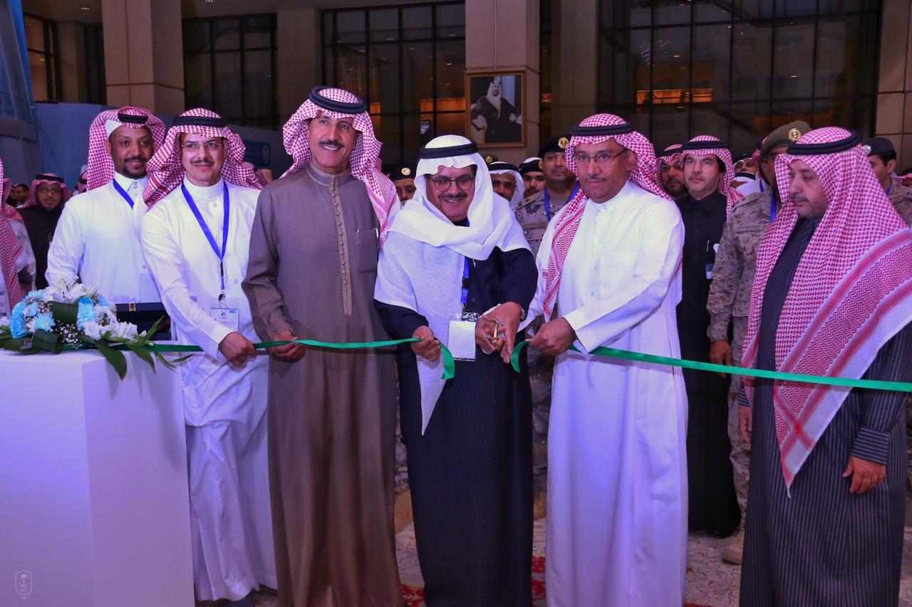 مدير جامعة الملك سعود يفتتح المؤتمر الدولي للمعلومات الجغرافية