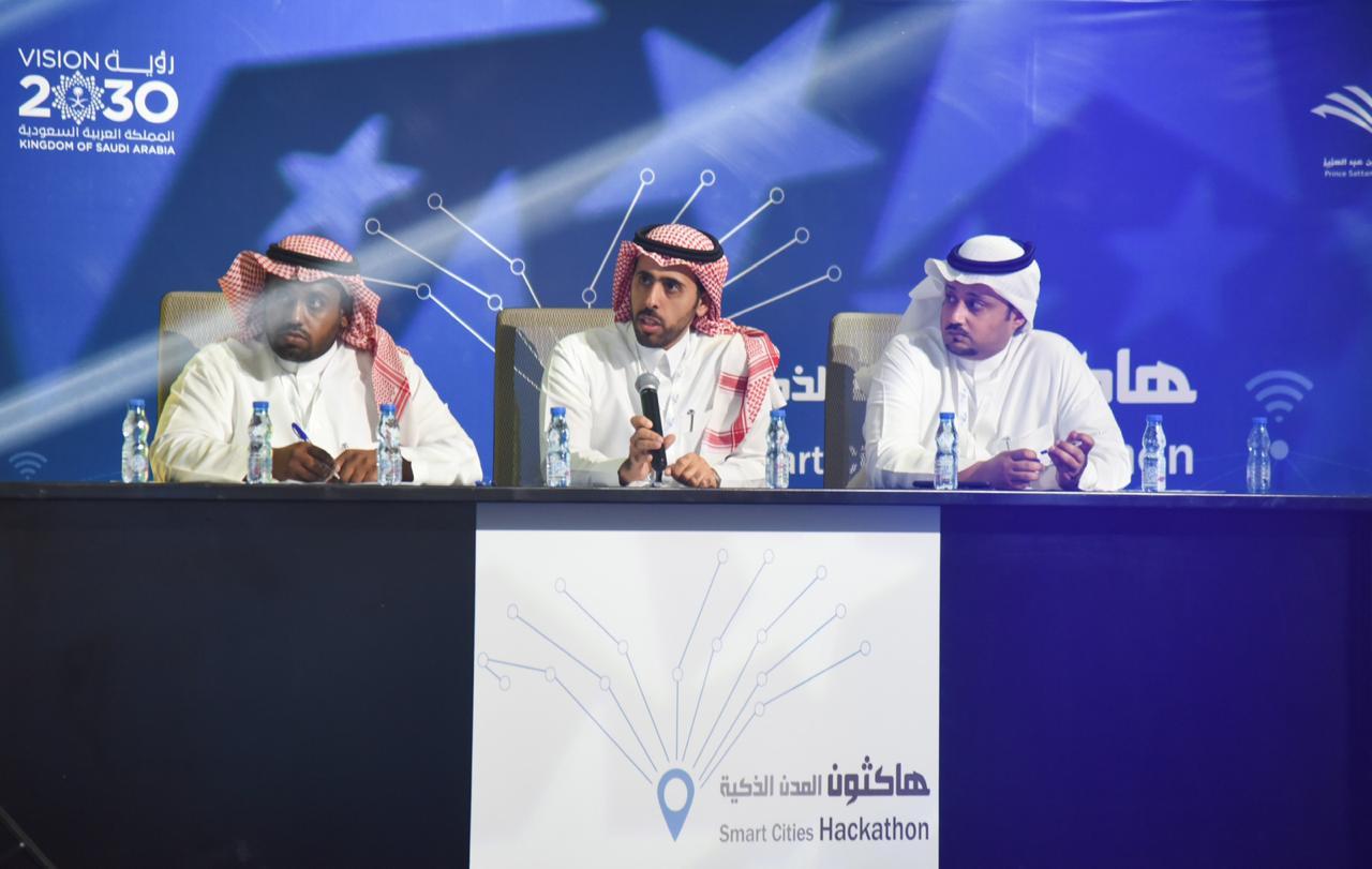 """اختتام هاكثون """"المدن الذكية"""" في جامعة الأمير سطام بن عبدالعزيز"""