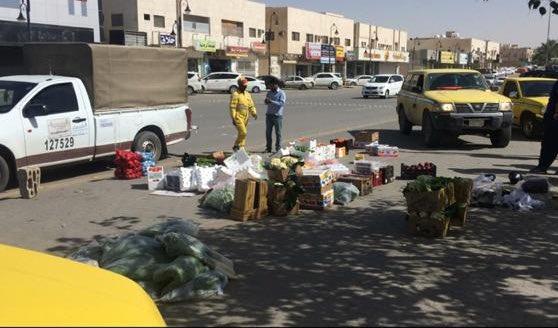 أمانة الرياض: ترحيل 31 بائعا متجولا مخالفا