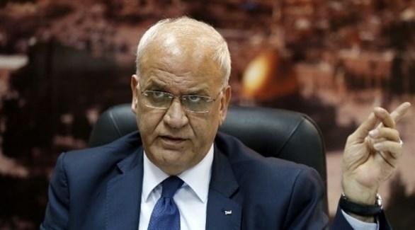 عريقات: حماس ترفض توحيد شطري الوطن الفلسطيني