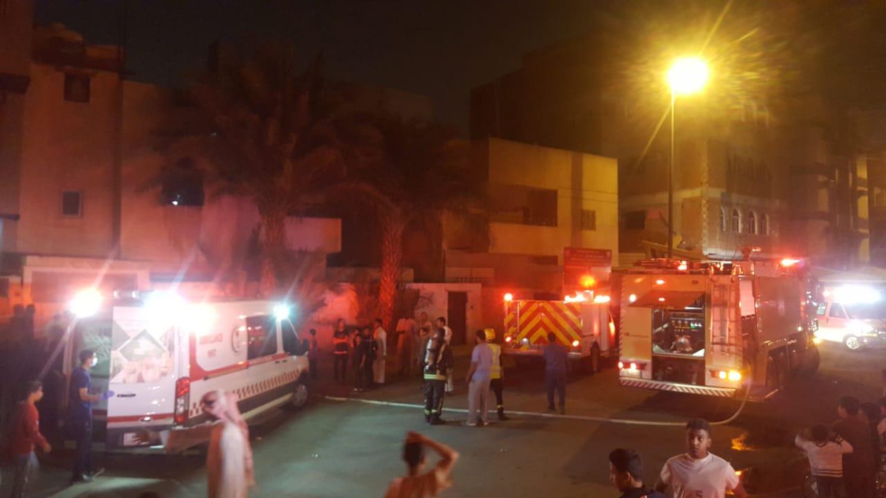 مصرع طفلين في حريق مروع بالمدينة المنورة
