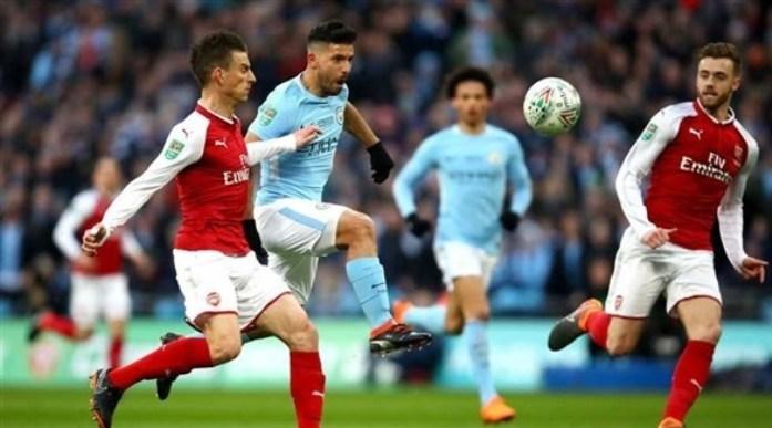 مشاهدة مباراة مانشستر سيتي وآرسنال بث مباشر في الدوري الإنجليزي