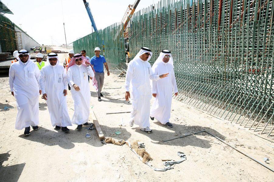 """""""الشؤون البلدية والقروية"""": استكمال مشروع طريق الملك عبدالله مع طريق الملك فهد"""