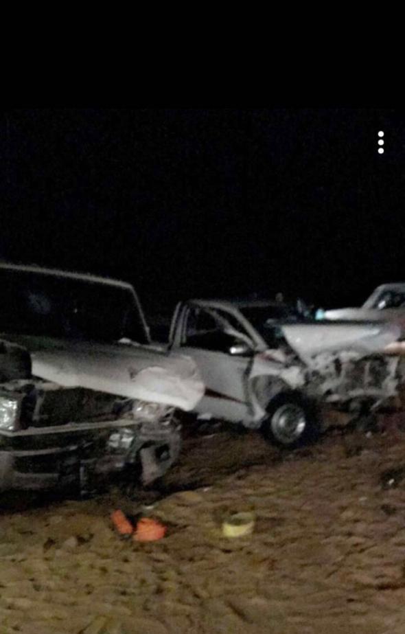 إصابة 7 أشخاص في حادث تصادم شرقي القصيم