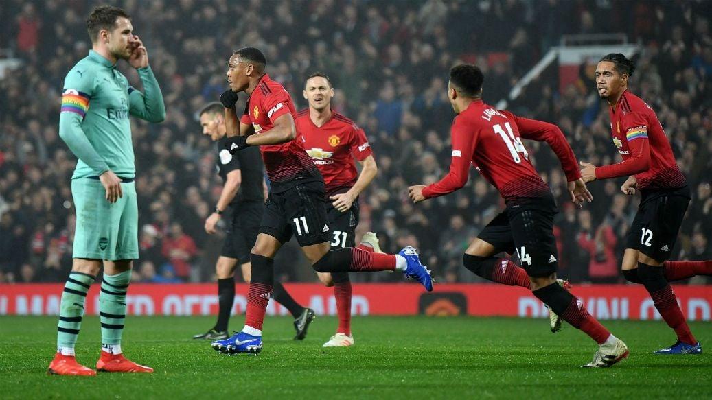 مشاهدة مباراة مانشستر يونايتد واَرسنال بث مباشر في الدوري الإنجليزي