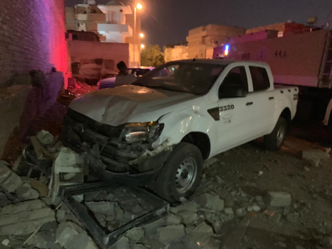 إصابة مصريين إثر سقوط جدار عليهما بالمدينة المنورة