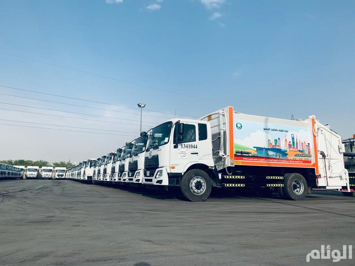 إطلاق 4 مشاريع جديدة لأعمال النظافة في الرياض