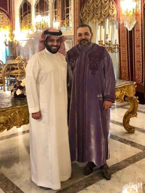 تركي آل الشيخ: إطلاق اسم الملك محمد السادس على النسخة الثانية من البطولة العربية لكرة القدم