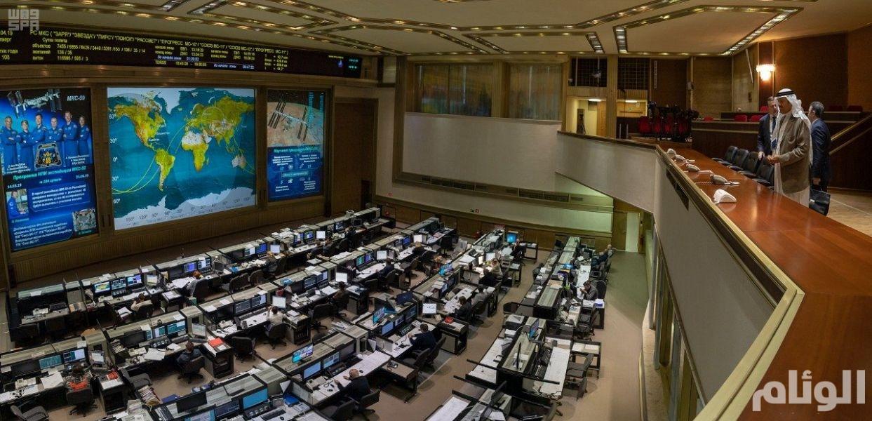 الأمير سلطان بن سلمان يزور مركز التحكم في البعثات الفضائية في روسيا
