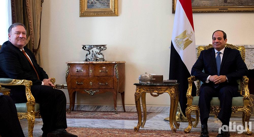 بومبيو يهدد: واشنطن ستفرض عقوبات على مصر