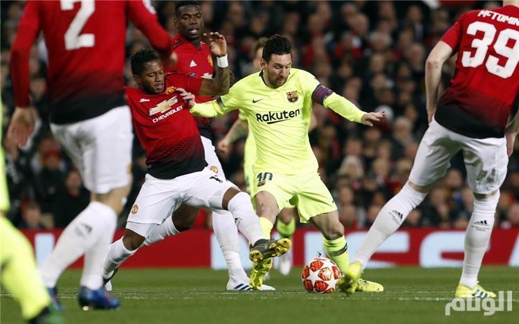 مشاهدة مباراة مانشستر يونايتد وبرشلونة بث مباشر