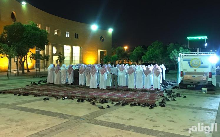 مصلى هيئة الأمر بالمعروف المتنقل يبدأ نشاطاته بمنتزهات الرياض