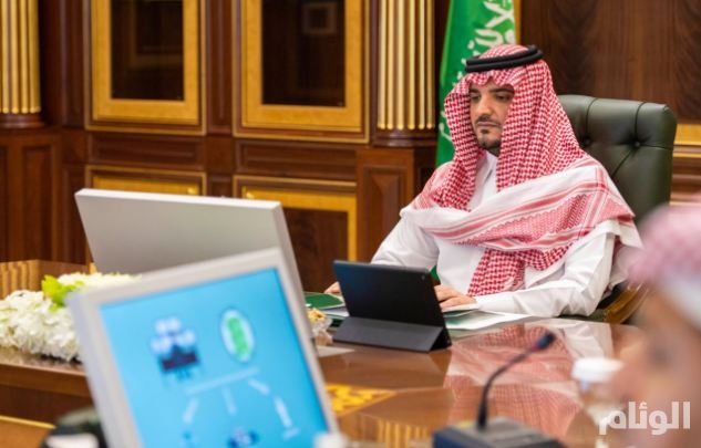 """وزير الداخلية يدشن نظام """"مدار"""" الأمني التابع للمديرية العامة لمكافحة المخدرات"""