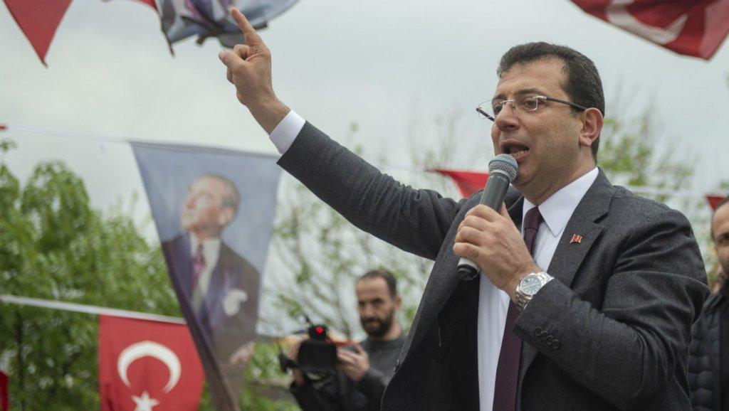 بعد الفوز باسطنبول.. إمام أوغلو: أول عمل سنقوم به التخلص من فساد حزب أردوغان
