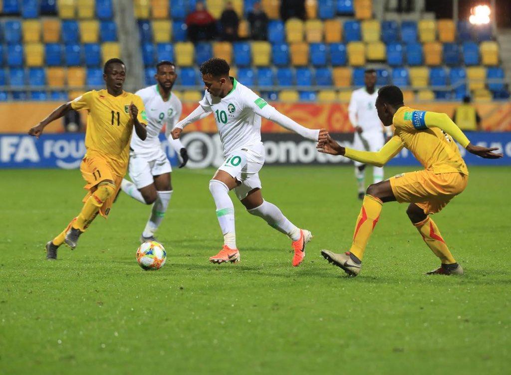 أخضر الشباب يخسر من نظيره المالي 3-4 في كأس العالم