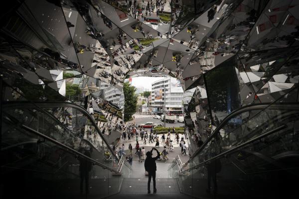 أبهر العالم… مركز تجاري مزّين بالمرايا في اليابان