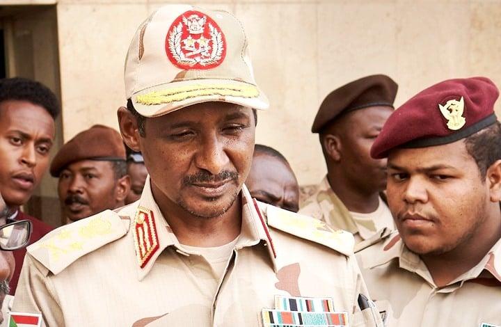 حميدتي قائد الدعم السريع: الاتفاق السوداني يفتح عهدًا جديدًا مع شركاء الثورة