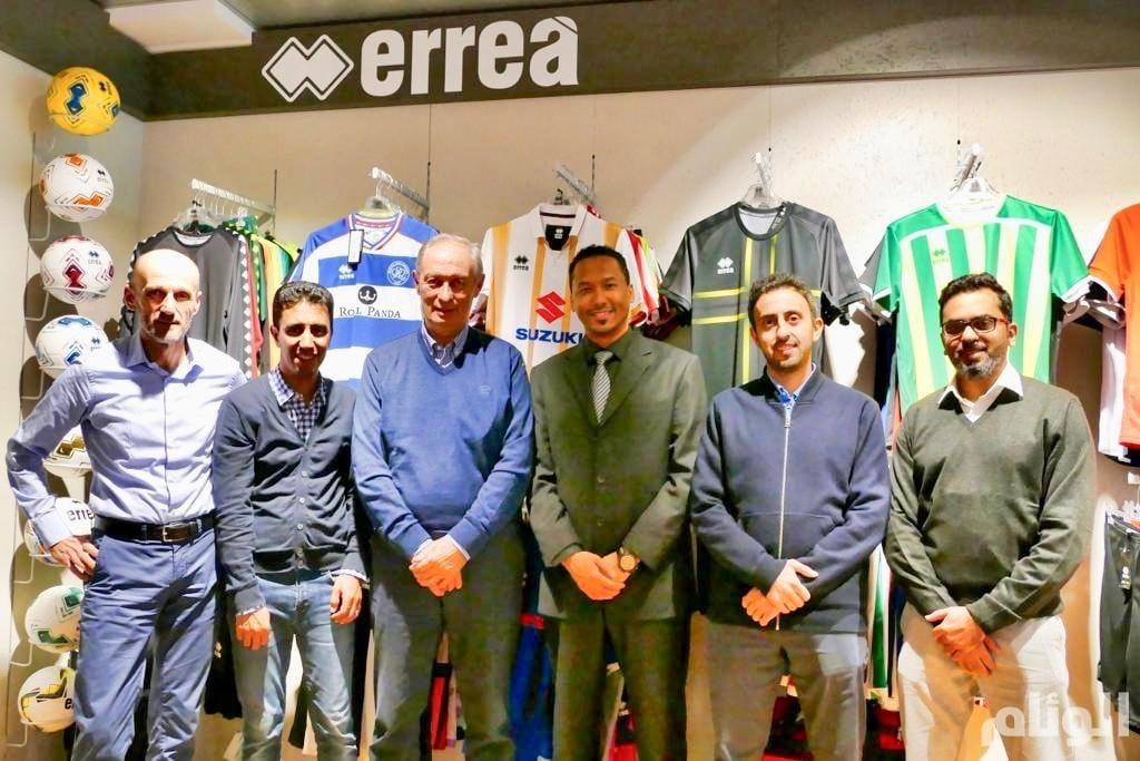 Green goal وكيلًا لـerrea الإيطالية في السعودية