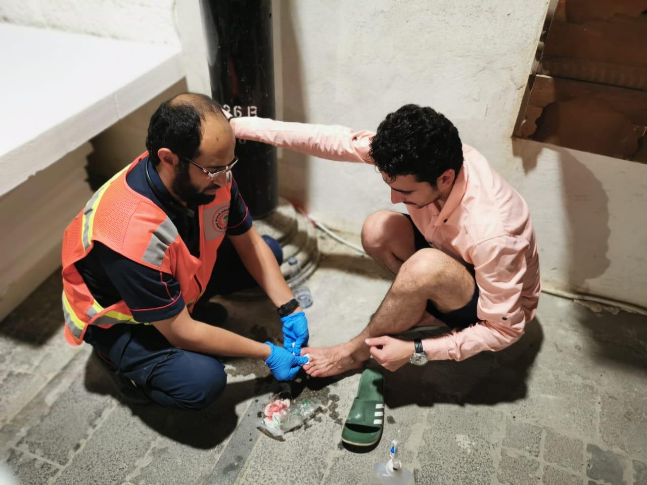 الهلال الأحمر يباشر 33 حالة خلال مهرجان مسك جدة التاريخية