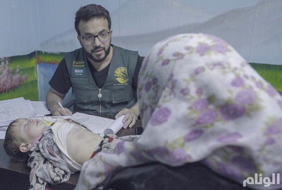 الفريق الطبي بمركز الملك سلمان للإغاثة يواصل تقديم خدماته للاجئين السوريين في مخيم الزعتري