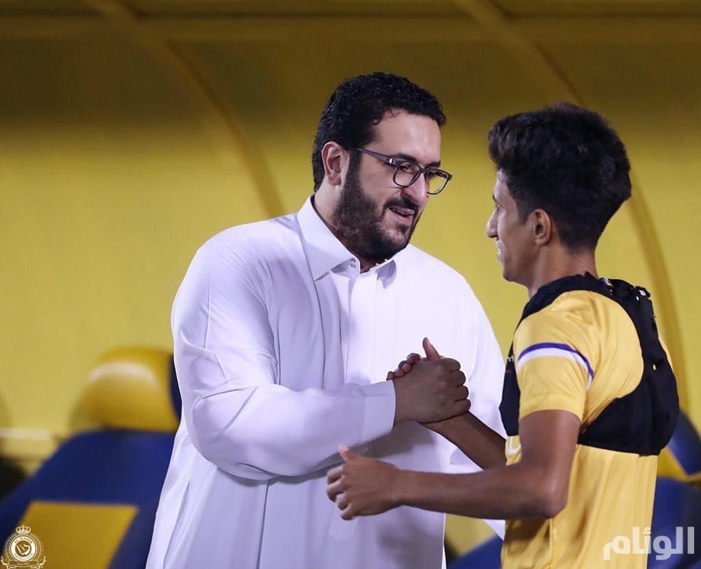 سعود آل سويلم يسعى لتخليد اسمه مع رؤساء الذهب في النصر