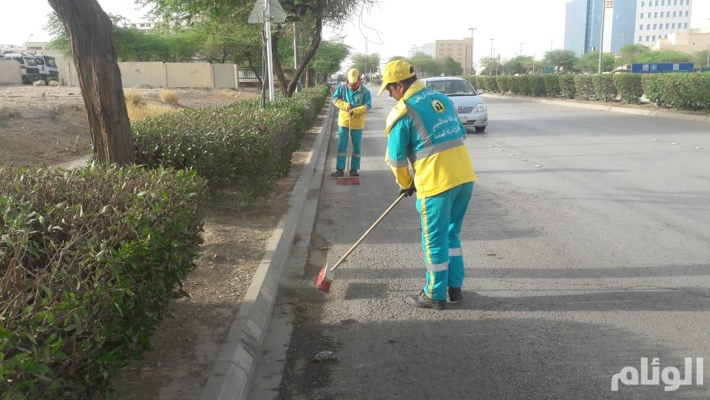 أمانة الرياض: أعمال النظافة اليومية تغطي 80 ألف شارع في 220 حي بنطاق المدينة
