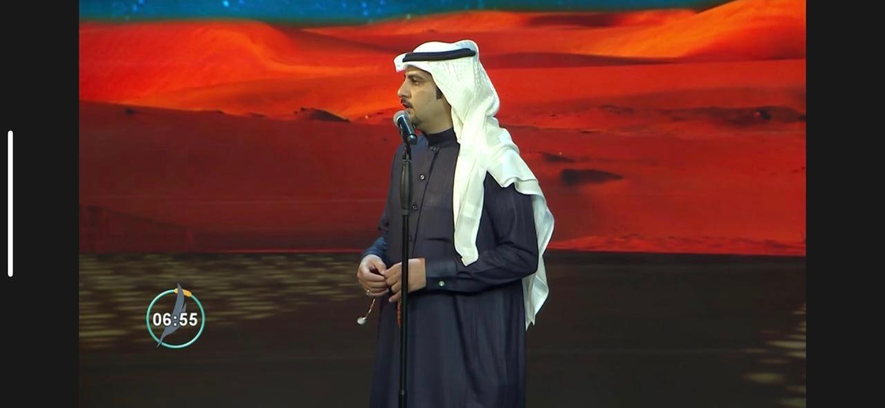 شعراء المحاوره يشيدون بقوة شاعرية الشاعر خالد الخالدي