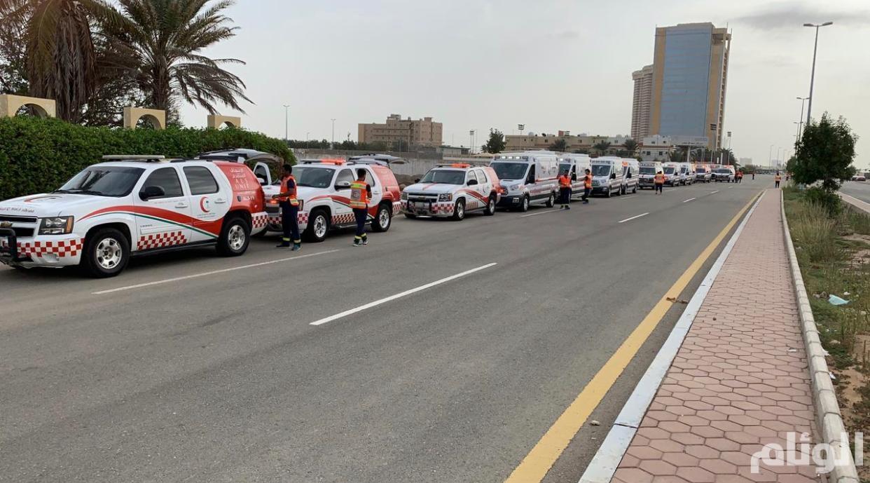 هيئة الهلال الأحمر بجدة تُكثّف استعداداتها خلال موسم شهر رمضان المبارك