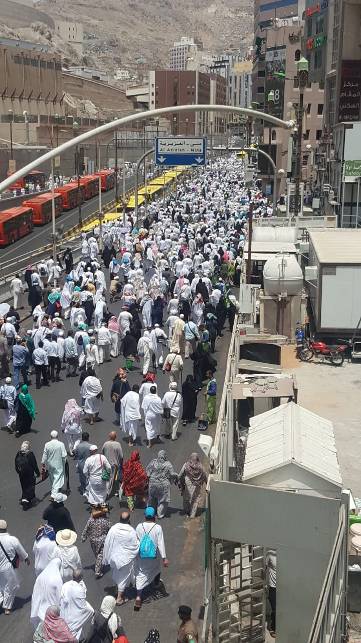 شاهد .. نجاح باهر للخطة المرورية الرمضانية في مكة المكرمة