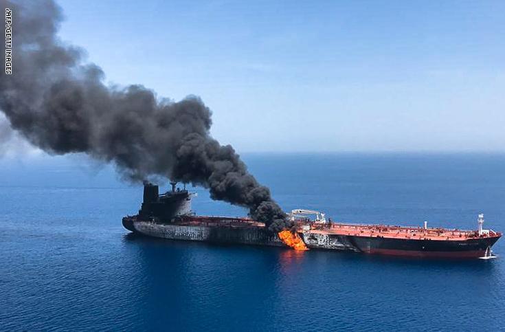 واشنطن: نعمل للتوصل إلى إجماع دولي بعد الهجمات على ناقلتي النفط