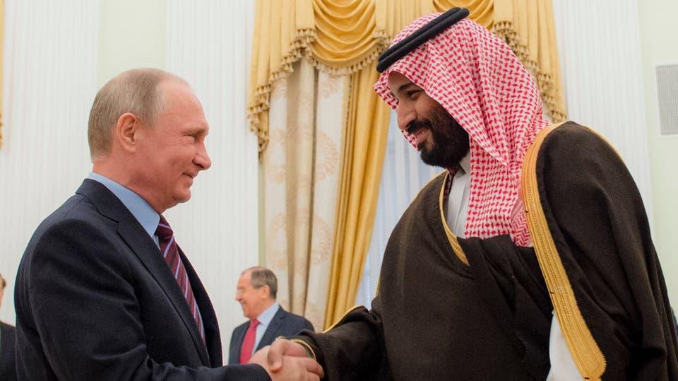 لقاء ولي العهد الأمير محمد بن سلمان وبوتين في موسكو - صورة أرشيفية