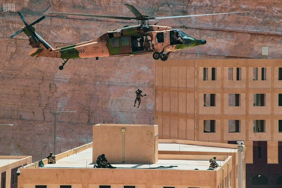 """اختتام تمرين """"عبدالله 6"""" بين القوات البحرية السعودية والأردنية"""