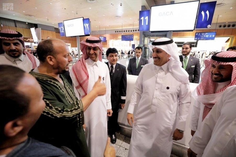 الخطوط السعودية تسيّر رحلاتها المنتظمة 000-3478133131559832