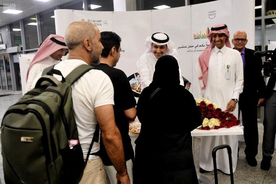 الخطوط السعودية تسيّر رحلاتها المنتظمة 000-9312452761559832