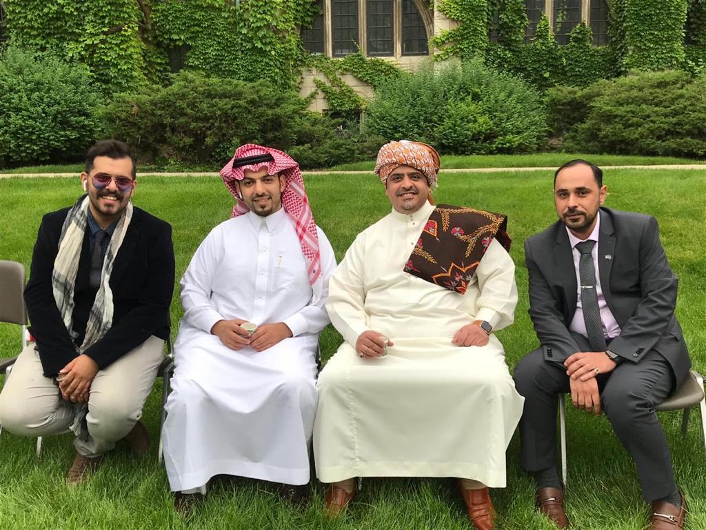 أندية الطلبة السعوديين في شيكاغو تحتفل بالعيد وتجدد البيعة لولي العهد
